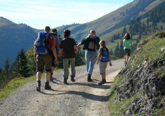 Gefaesssport-Wandern